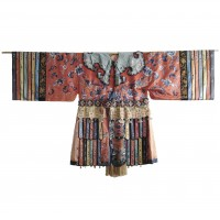 Chinese Minority silk Robe