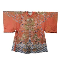 Chinese silk Theater Robe