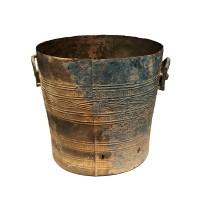 Vietnamese bronze 'Thap' water vessel