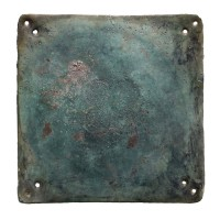 Vietnamese bronze Breast Plaque