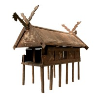 Spirit house from Indonesia