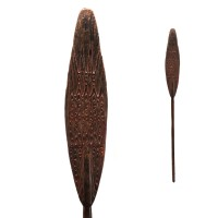 Lake Sentani wood Canoe Paddle