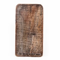 Wooden Moroccan Quranic Teaching Tablet
