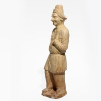 Sui Dynasty Tomb Pottery Figure of a Foreigner
