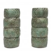8 bronze bracelets, Battambang culture
