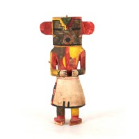 "Hopi rasp or ""Rugan D"" Kachina"