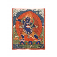 Painting depicting Vajrapani, Tibet