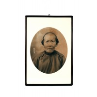 Chinese ancestral portrait of a woman