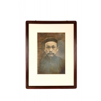 Chinese ancestral portrait of a man