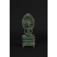 Buddha surmounted by Naga