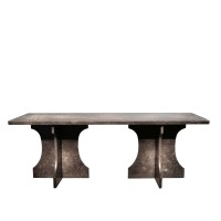Contemporary Table in Soignies Stone
