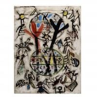 Armand Avril, composition aux deux ovales, 1995