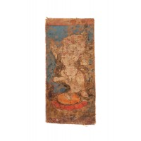 Tibetan initiation card (tsakli)