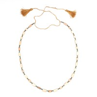 ISA B // Necklace in faience beads