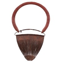 Kirdi metal 'Clam Shell' Apron / Woman's Cache-sexe