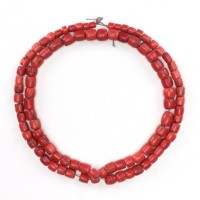 Tibetan coral Necklace