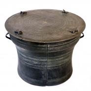 Bronze Karen Frog Drum 18th Century