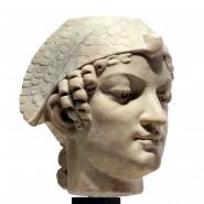 Neo-Egyptian marble head