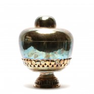 Thai silver offering bowl