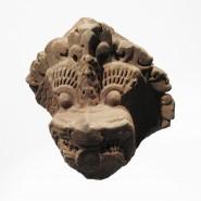 A Khmer NAGA head, in sandstone