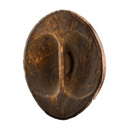 A rare and large ampinga shield from the Tanala people