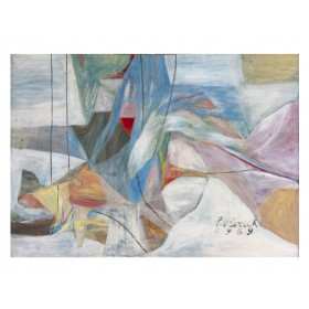 "Pierre Vlerick,""Abstrait"", 1959"