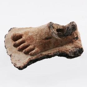 Gupta terracotta Foot