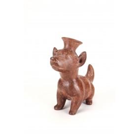 Colima dog in terracotta