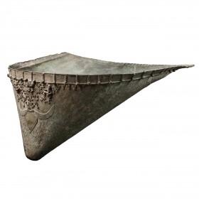 Indian bronze ceremonial Winnowing Basket
