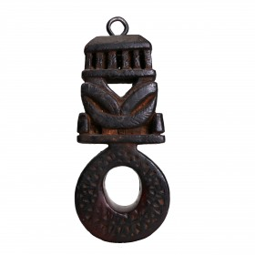 Nepalese butter-churn Handle, a 'ghurra'