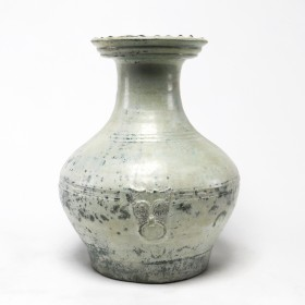 Han terracotta 'Hu' Vessel
