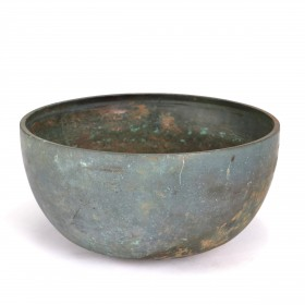 A Khmer bronze Bowl