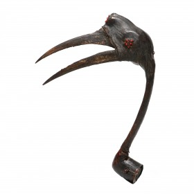 A Nupe Hunter's Bird Headdress