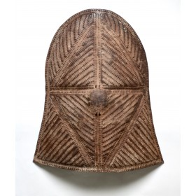 Stamped metal Shield from the Kirdi People