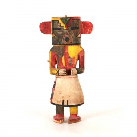 "Hopi rasp or ""Rugan D"" Kachina"