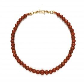 Indonesian Jatim beads necklace