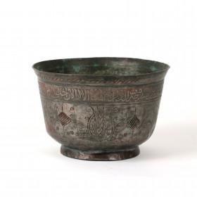 Safavid tinned-copper bowl