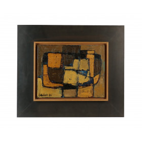Orla Lau, Abstract composition, 1966