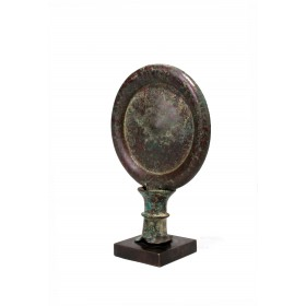 Egyptian bronze mirror