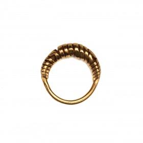 Pre-Majapahit gold Spiral Ring - Java