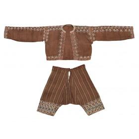 Bagobo Man's Costume