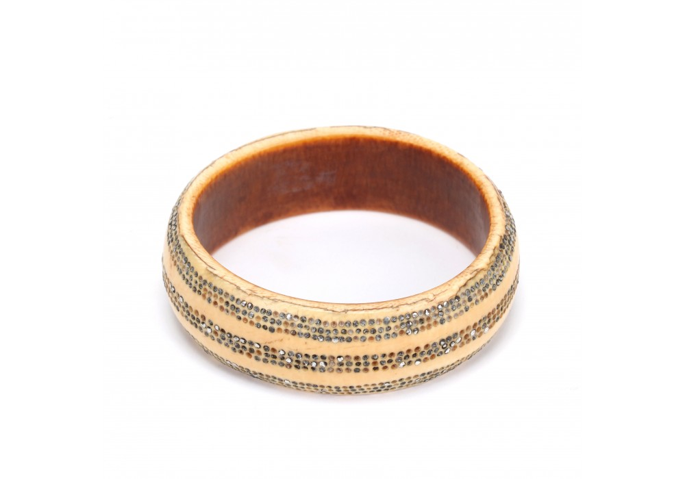 Ido people ivory bracelet