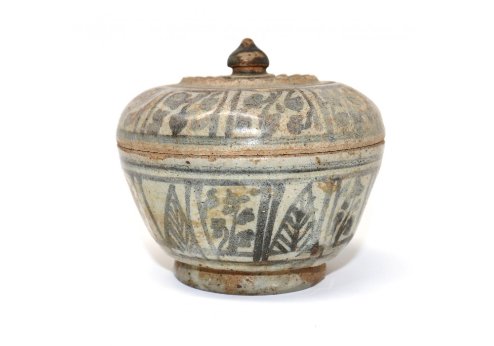 Thai ceramic covered box
