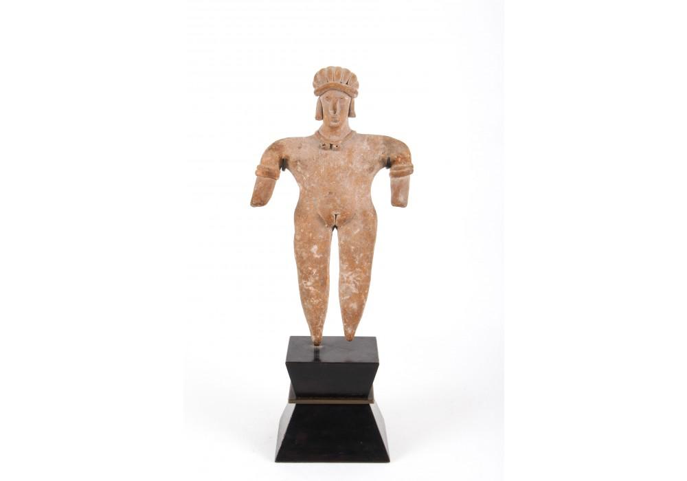 Colima Female Figure in terracotta