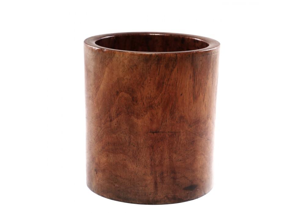 Pot à pinceaux en bois de rose, Chine