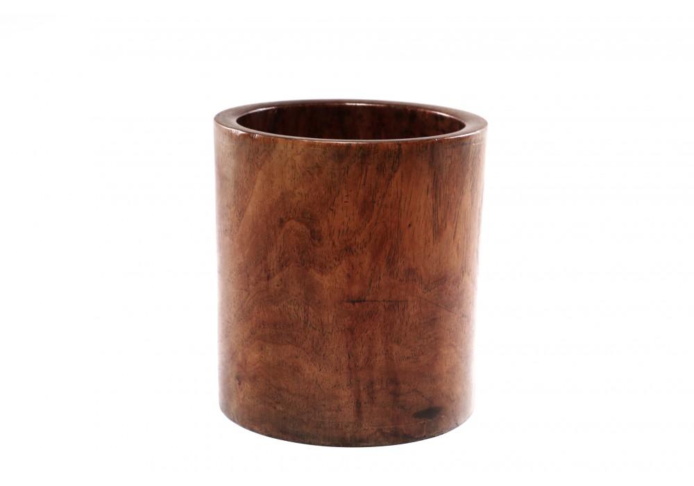 Pot à pinceaux chinois en bois de rose