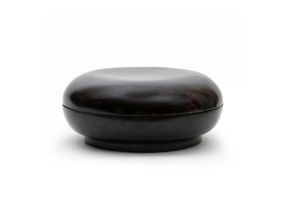 Boîte chinoise en laque noire