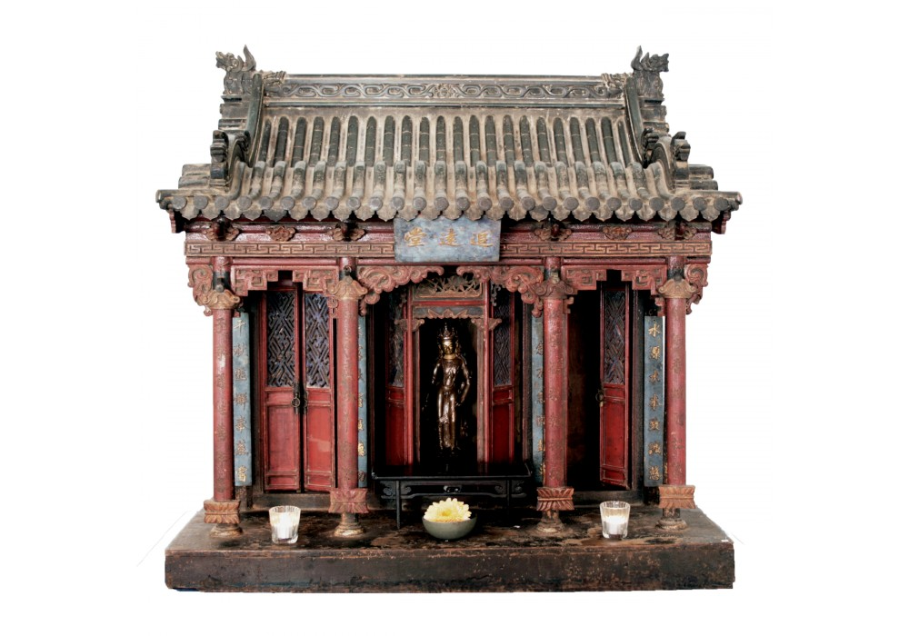 A scale model Altar Temple Shrine