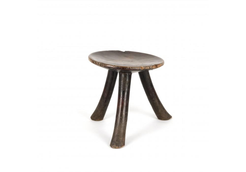 Tripod wooden stool