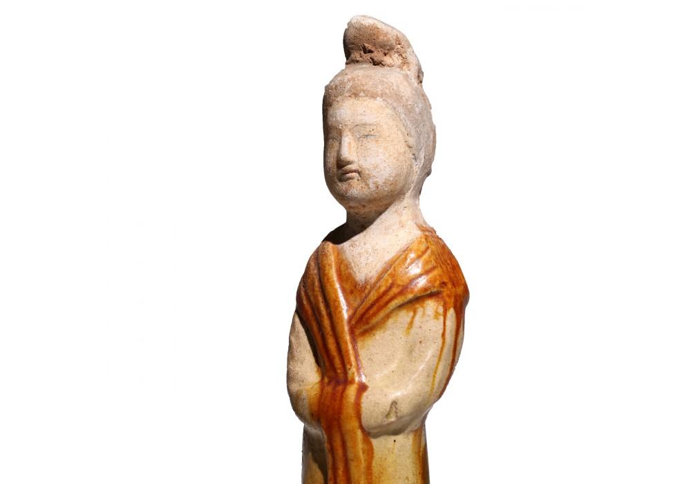 Statuette Tang d'une dame de court